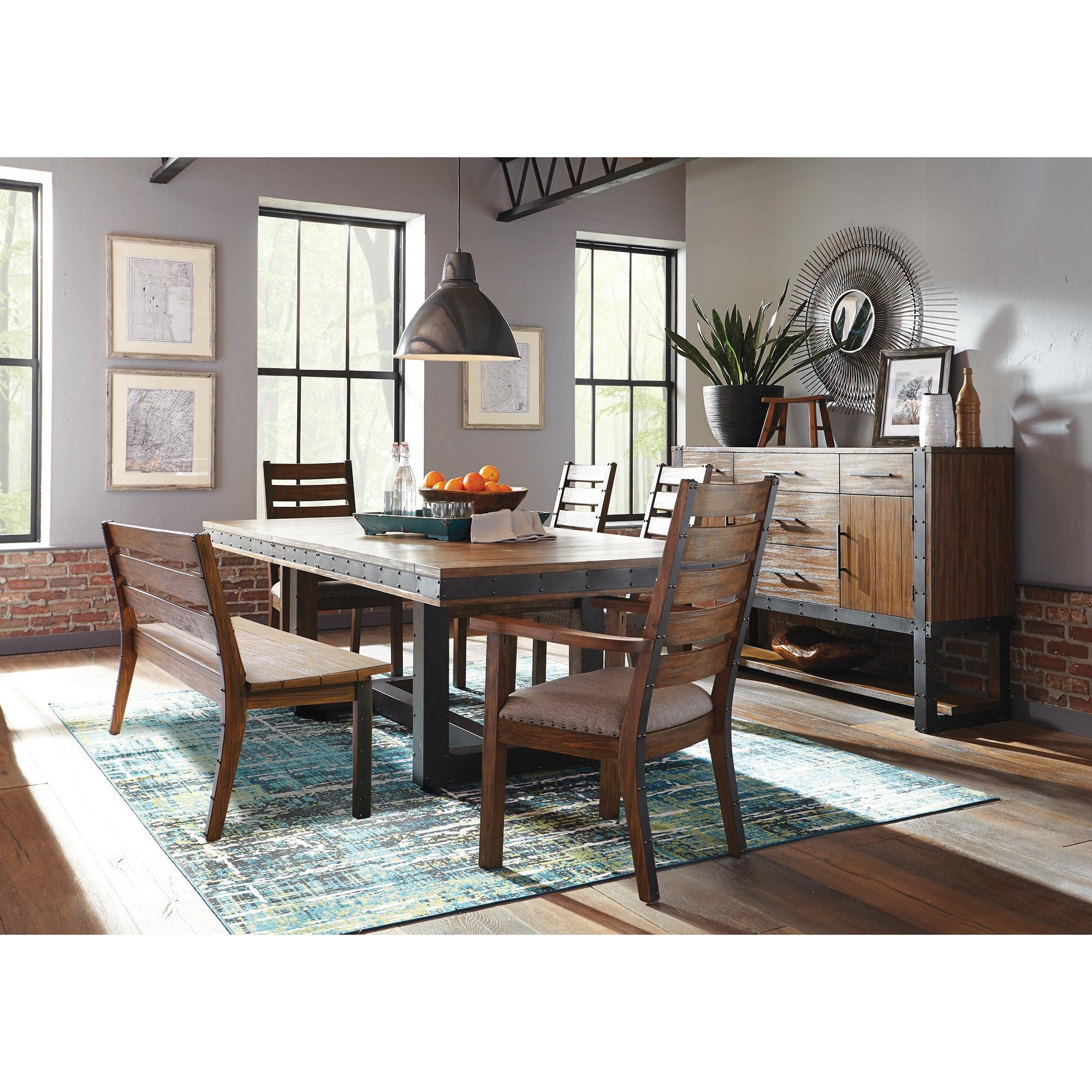 Bellevue Brown Acacia Wood 7 Piece Dining Set Overstock 19434115