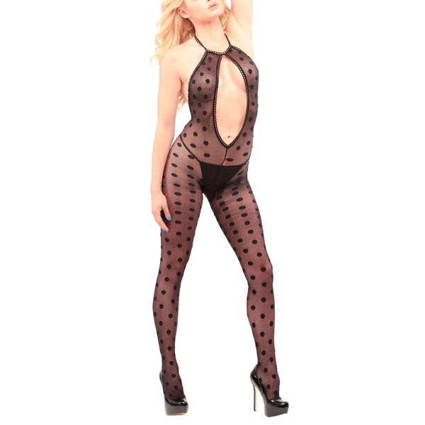 c134f79ae69 Shop JL Intimates Women s Sexy Full Bodystocking Lingerie - Free Shipping  On Orders Over  45 - Overstock - 19434128