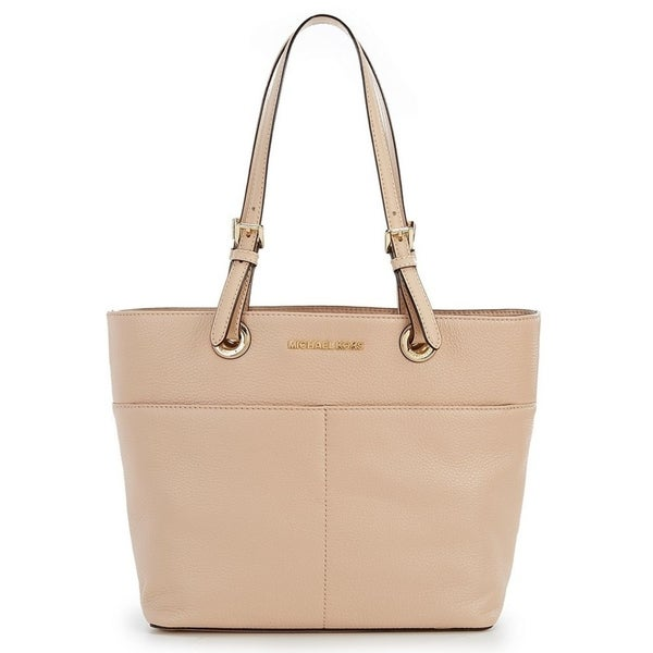 0d143e963fb3fe Shop MICHAEL Michael Kors Bedford Pocket Tote Oyster - Free Shipping ...