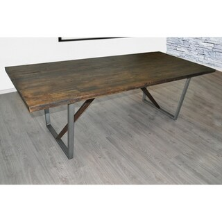 SOLIS Remini Natural Weathered Wood Table