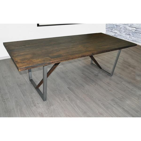Captivating SOLIS Remini Natural Weathered Wood Table