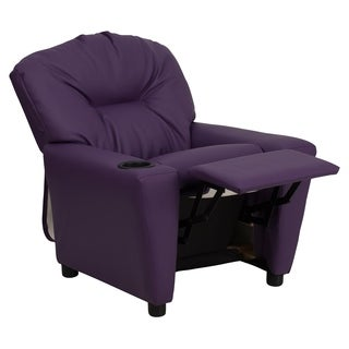 Kaloo Comfortable Children Purple Reclining Armchair