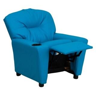 Kaloo Comfortable Children Turquoise Reclining Armchair