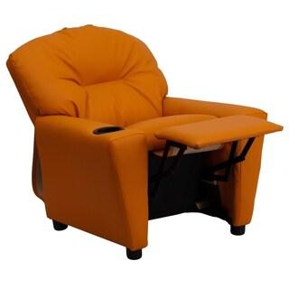 Kaloo Comfortable Children Orange Reclining Armchair