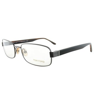 Tom Ford Rectangle FT 5092 772 Unisex Silver Frame Eyeglasses