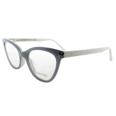 Tom Ford Cat-Eye FT 4271 020 Womens Grey Ivory Frame Eyeglasses