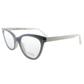 Tom Ford Cat-Eye FT 4271 020 Womens Grey Ivory Frame Eyeglasses