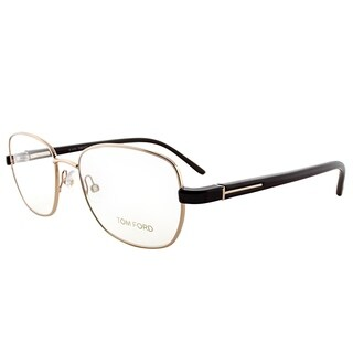 Tom Ford Round FT 5152 28A Unisex Gold Frame Eyeglasses