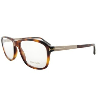 Tom Ford Fashion FT 5352 052 Unisex Havana Frame Eyeglasses