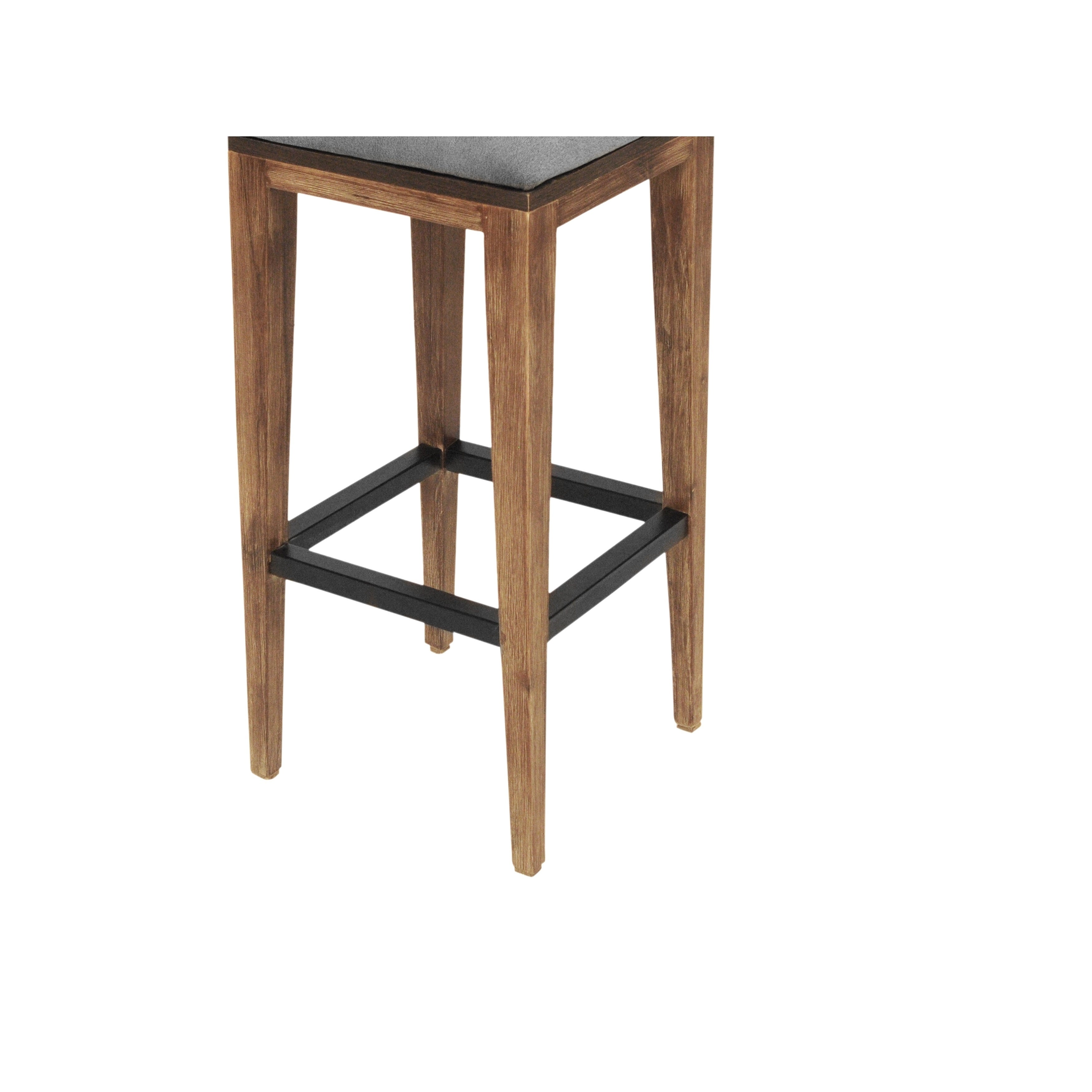 Awesome Cdi Furniture Medley Two Tone Wood Bar Stool Dailytribune Chair Design For Home Dailytribuneorg