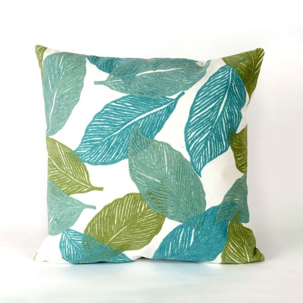 Liora Manne Cut Leaves Pillow (20 x 20)