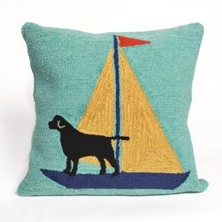 Liora Manne Canine Captain Pillow (18 x 18)