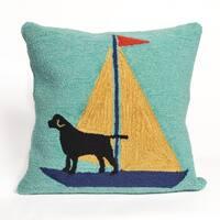 Canine Captain Pillow (18 x 18)