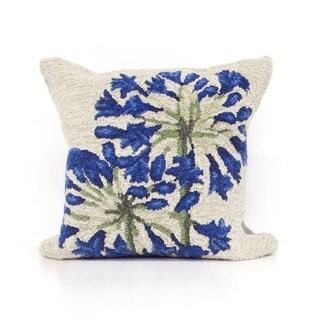 Agapanthus Pillow (18 x 18)