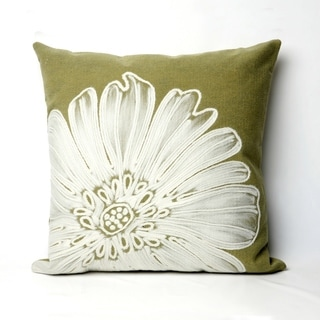 Liora Manne Embossed Flower Pillow (20 x 20)