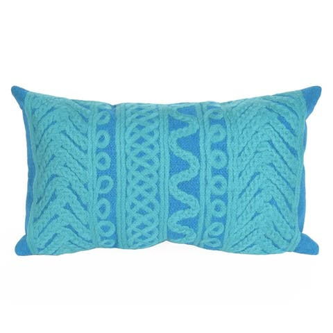 Filigree Stripe Pillow (12 x 20)