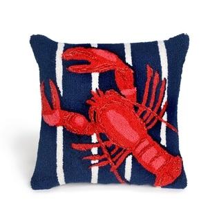 Liora Manne Crustacean Pillow (18 x 18)