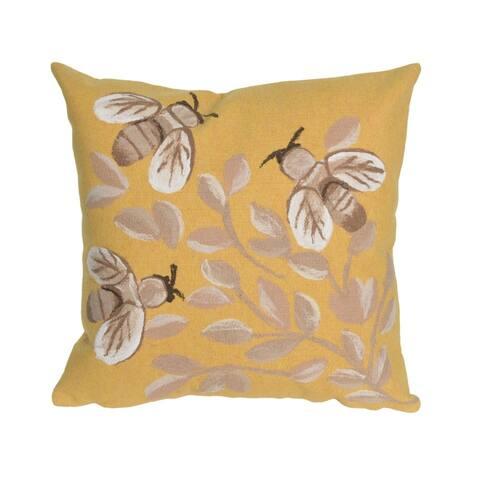 Liora Manne Buzzing Around Pillow (20 x 20)