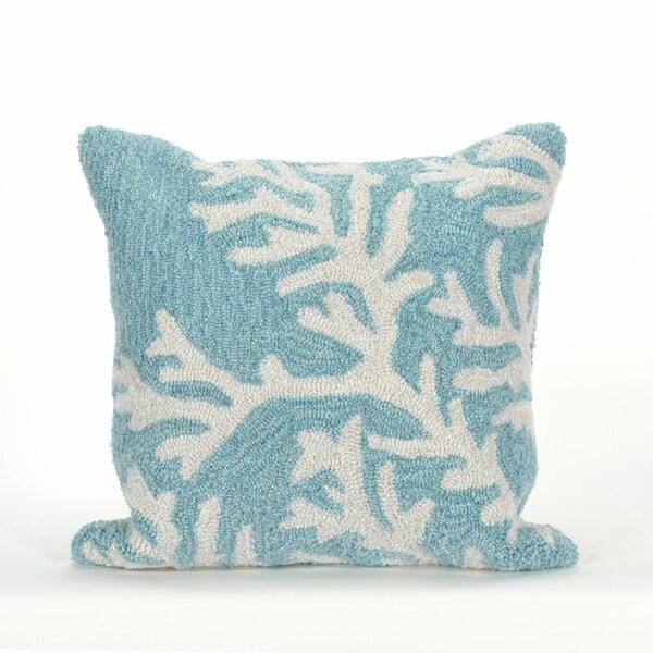 Sea Branch Pillow (18 x 18)
