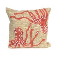 Ocean Monster Pillow (18 x 18)