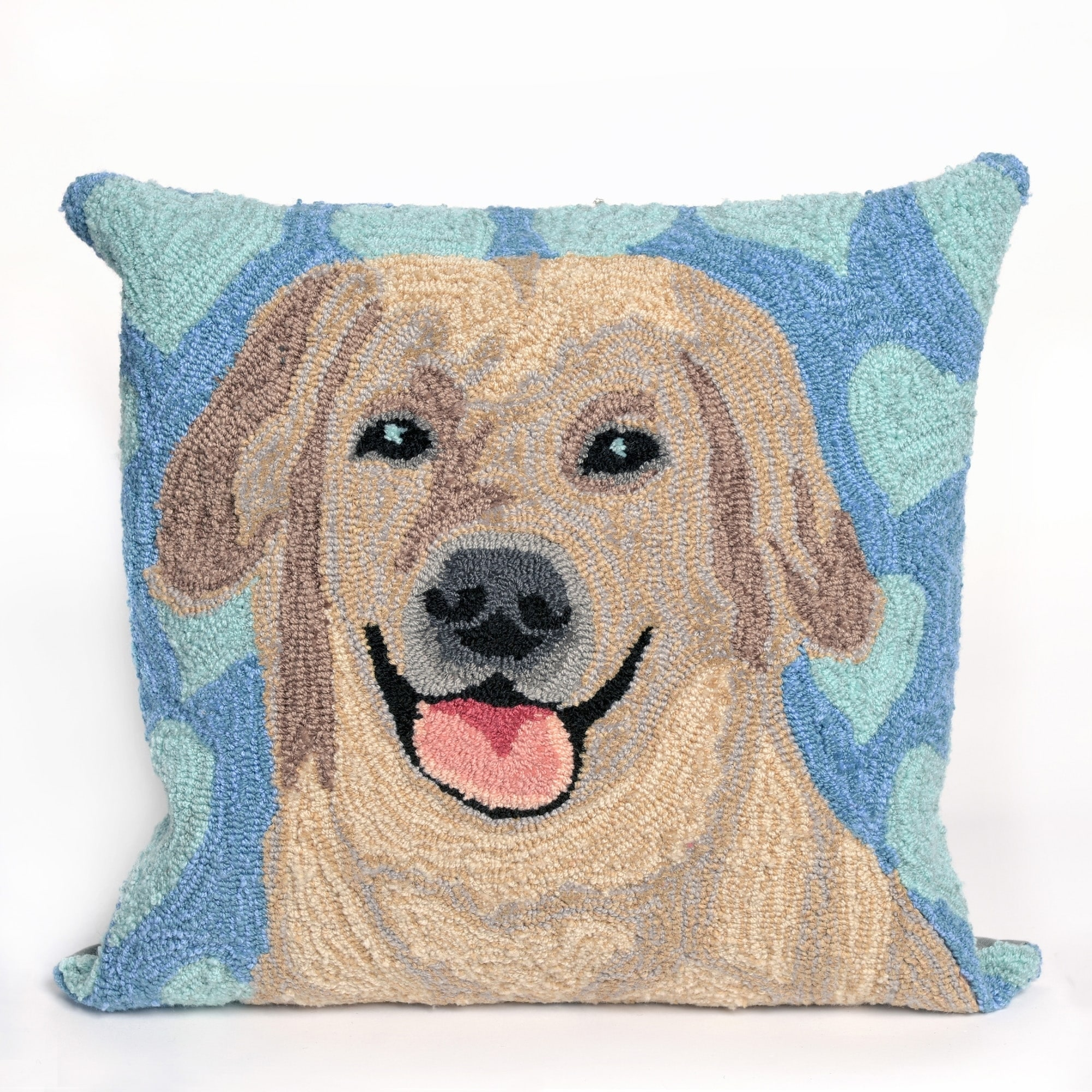 Liora Manne Lab Love Pillow (18 x 18)