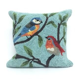 Summer Birds Pillow (18 x 18)