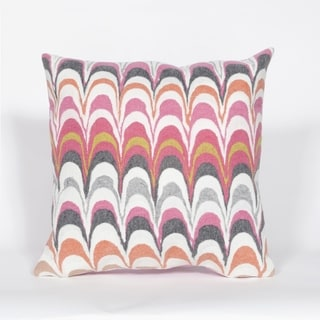 Liora Manne Scales Pillow (20 x 20) (Pink)