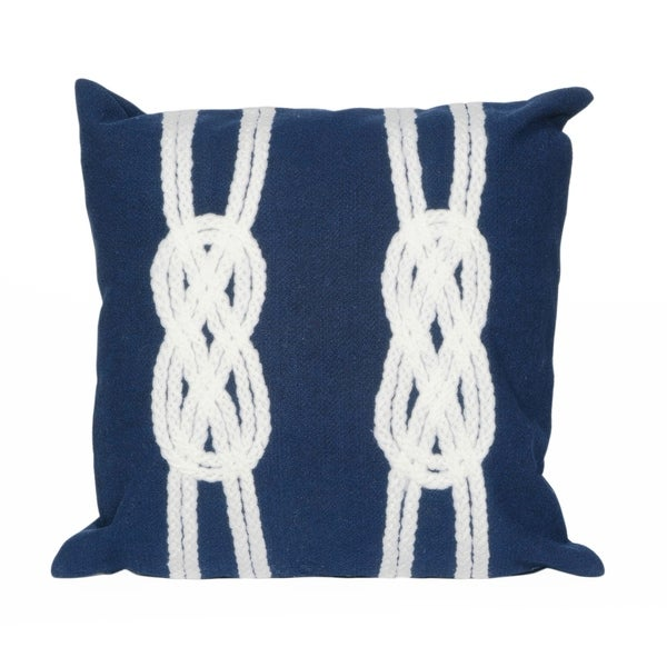 Liora Manne Infinity Knot Pillow (20 x 20)