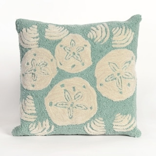 Link to Liora Manne Sea Shells Pillow (18 x 18) Similar Items in Decorative Accessories