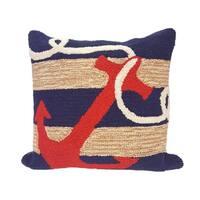 Ocean Hook Pillow (18 x 18)