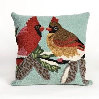 Winter Birds Pillow (18 x 18)