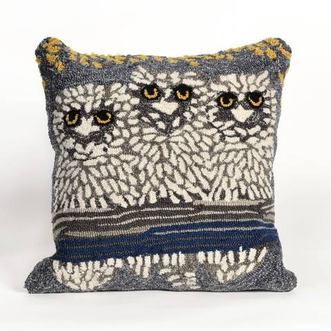 Wise Eyes Pillow (18 x 18)