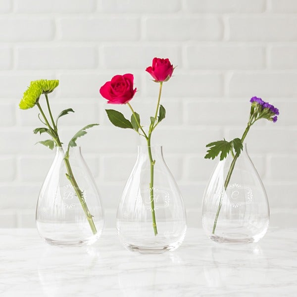 Shop Personalized Glass Vase Free Shipping On Orders Over 45