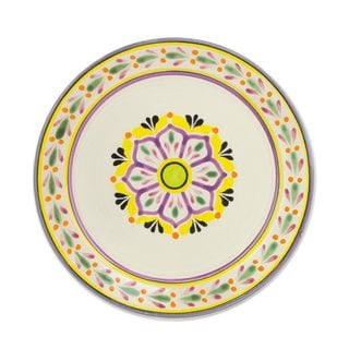 Majolica Ceramic Dinner Plates u0027Mexican Lavenderu0027 (Pair) ...  sc 1 st  Overstock.com & Mexico Dinnerware | Find Great Kitchen u0026 Dining Deals Shopping at ...
