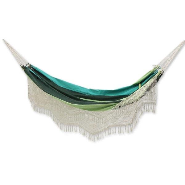 cotton hammock  u0026 x27 peaceful u0026 x27      cotton hammock  u0027peaceful u0027  single   brazil    free shipping today      rh   overstock