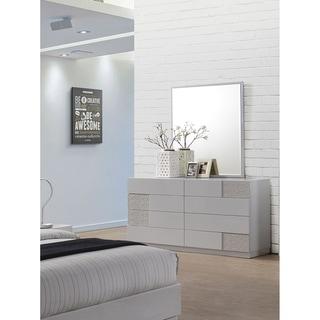 Strick & Bolton Zoja Silver-lined Dresser and Mirror