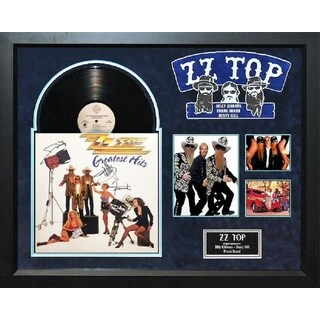 ZZ Top - Greatest Hits - Signed Album