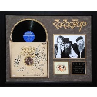 ZZ Top - First Album - Signed Album