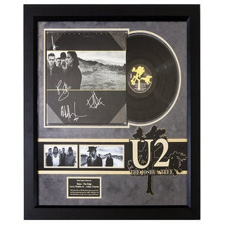 U2 The Joshua Tree Band Signed Album