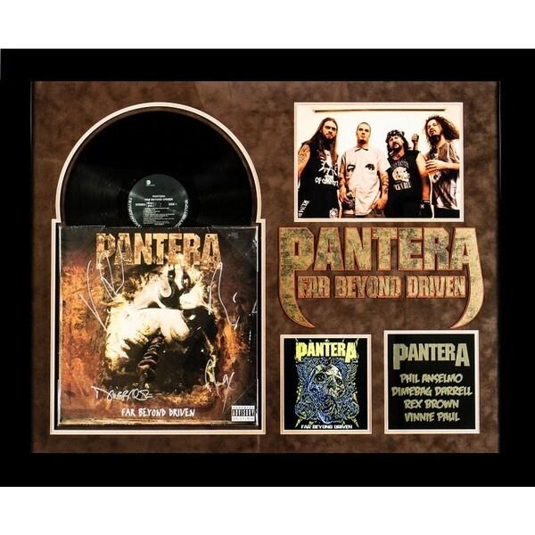 Shop Pantera Far Beyond Driven Signed Album On Sale Free