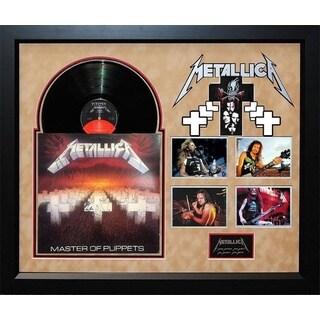 Metallica - Masters of Puppets - Signed Album