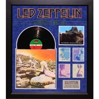 Led Zeppelin - Houses of the Holy - Signed Album