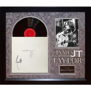 James Taylor - Greatest Hits - Signed Album