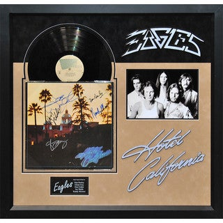 Eagles - Hotel California Signed Album