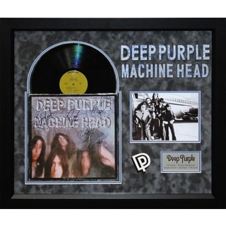 Deep Purple - Machine Head - Signed Album