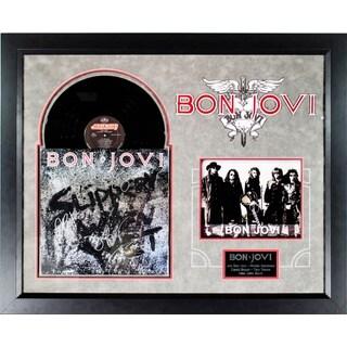 Bon Jovi - Slippery When Wet - Signed Album