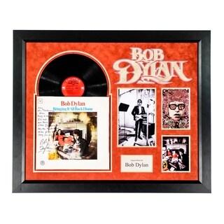 Bob Dylan - Mr Tamborine Man - Signed Song Lyrics on Album