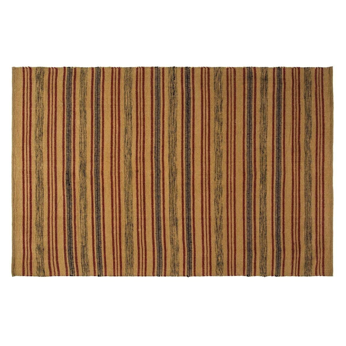 VHC Brands Beacon Hill Rug (4' x 6') - 4' x 6', Black, Si...
