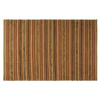 VHC Brands Rustic and Lodge Beacon Hill Loom Woven Tan Rug 60x96