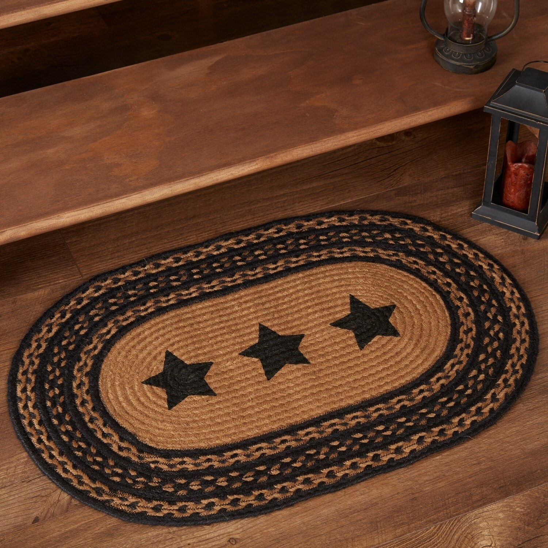 Flooring Vhc Farmhouse Stars Rug Jute
